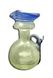 Jarrón cristal soplado