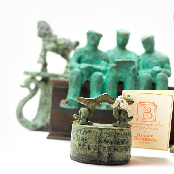 Escultura Trio de Obreros