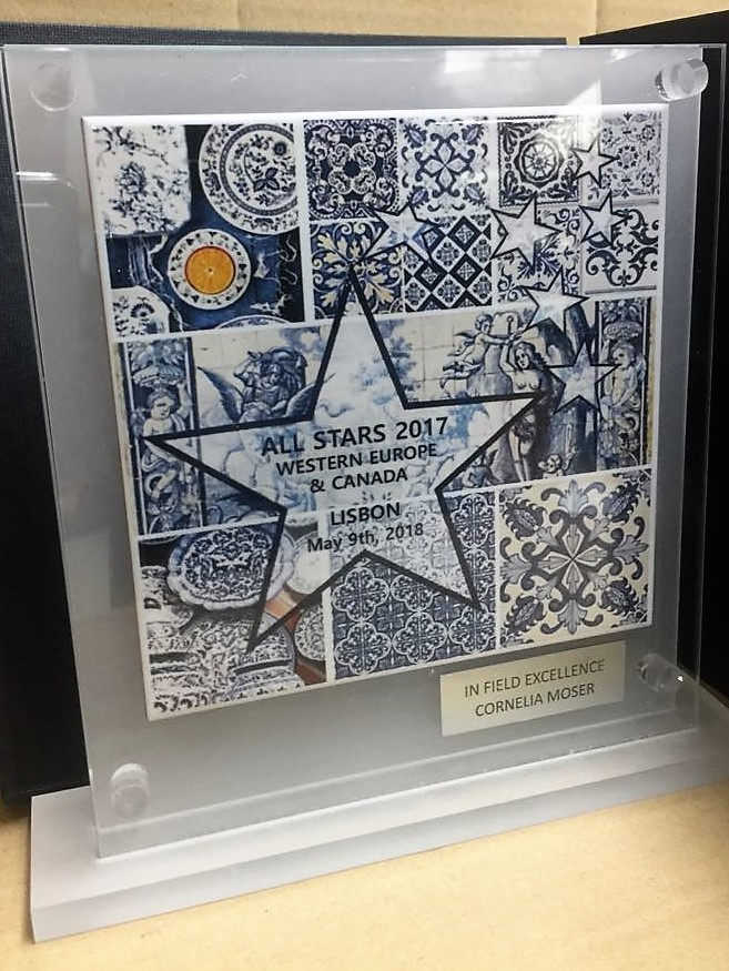 Trofeo artesanal azulejo...